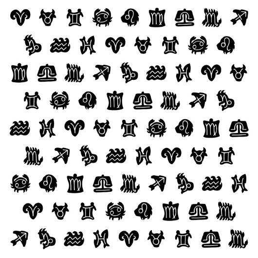 Créations astrologiques, objets et thèmes astraux, maya - L'auracle